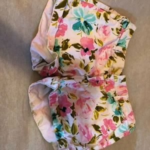Matching floral shorts and tank set